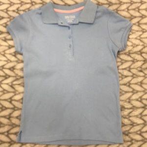 Girls school collared shirt